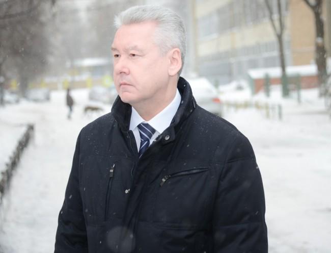 На место аварии у метро «Славянский бульвар» прибыл Сергей Собянин