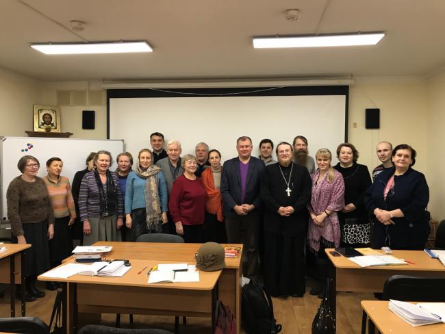 В храме Знамения иконы Божией Матери в Кунцеве состоялась встреча с профессором Романом Силантьевым