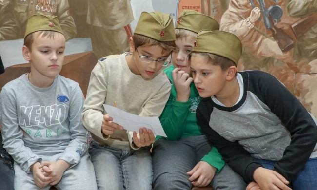 Дети из Донецкой области побывали на «Ёлке Победы»