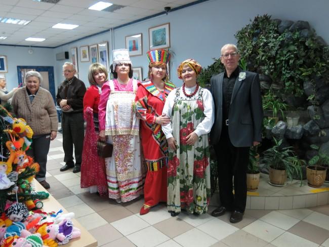 В районе Проспект Вернадского прошёл праздник «Новогодний серпантин»