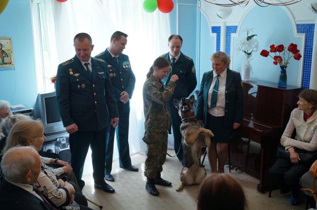 Внуковская таможня посетила Центр социального обслуживания района