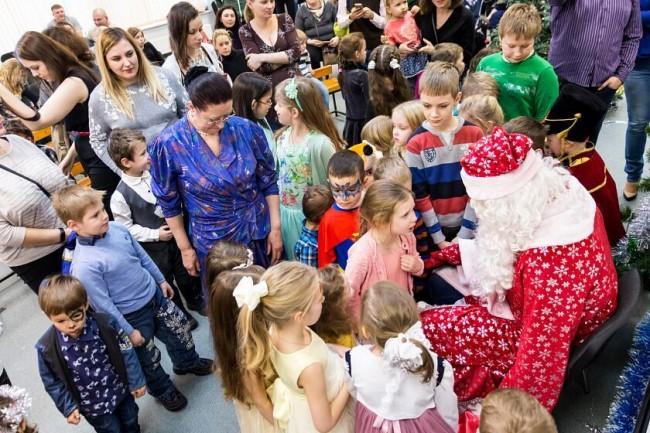 В МТУ состоялся детский новогодний утренник «Мастерская Деда Мороза»