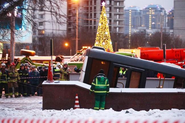Авария на Кутузовском проспекте глазами очевидца