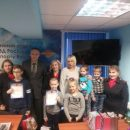 Детей наградили в линейном отделе МВД России в аэропорту Внуково!
