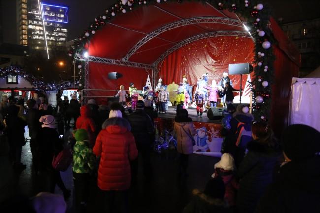 «Путешествие в Рождество» на Западе Москвы