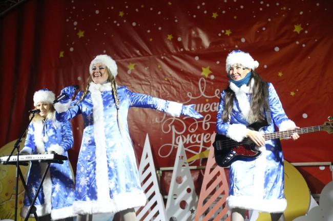 Снегурочки в Кунцево