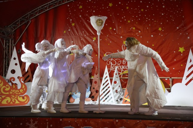 «Белые сны» театра «Беспредел» в ЗАО