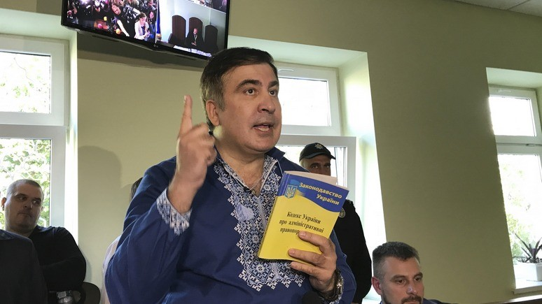 1+1: Саакашвили разрешили перезимовать на Украине