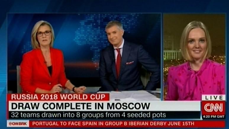 СNN: жеребьёвка подарила российским фанатам надежду на ЧМ-18