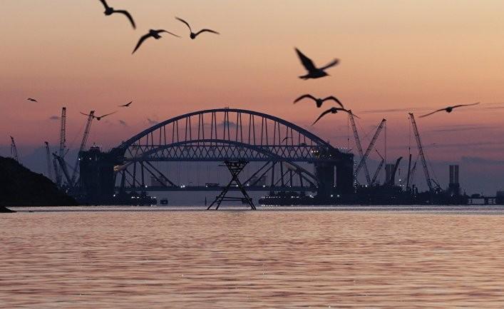 Строительство Керченского моста: в чем главные угрозы для Украины