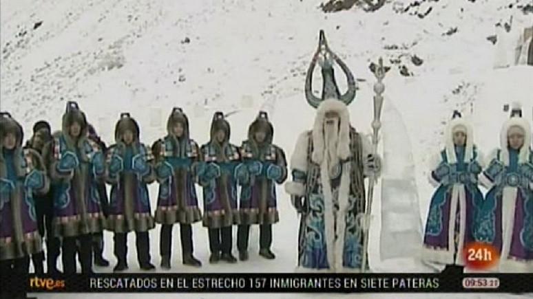 Canal 24 Horas: «сибирский Санта-Клаус» объявил россиянам о наступлении зимы