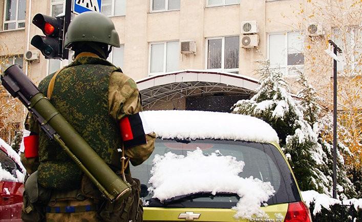 Бунт украинских повстанцев