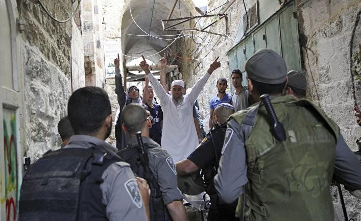 Иерусалим — разделенный город