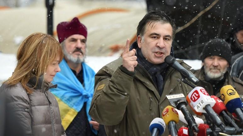 Independent: Саакашвили претендует на роль спасителя Украины