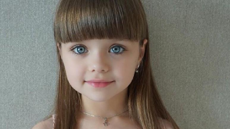 Le Figaro: русскую девочку 6 лет признали самой красивой в мире