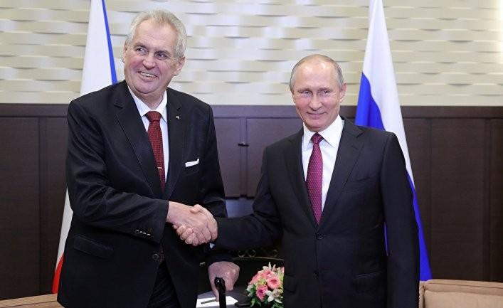 Еще раз о визите Земана в Россию