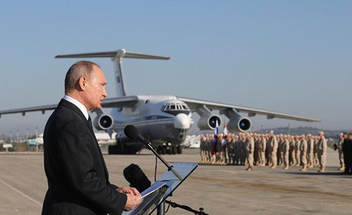 Сирийский локомотив российского царя