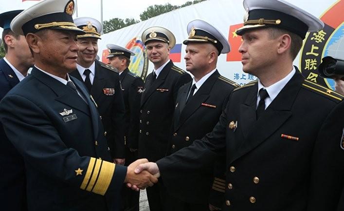 Россия и Китай проводят совместные учения ПВО