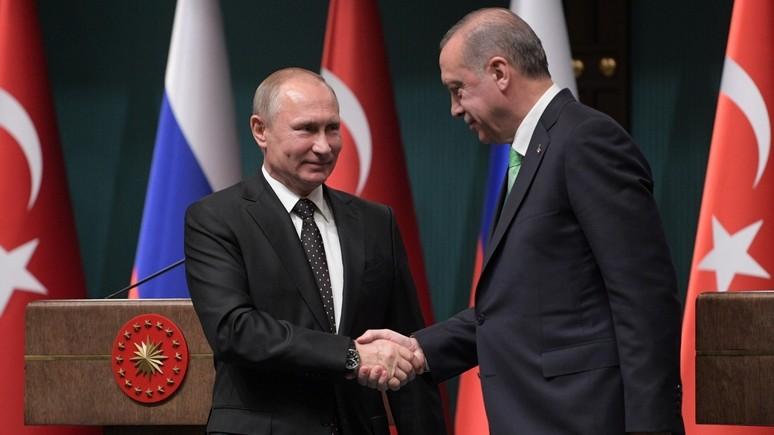 Daily Sabah: Путин и Эрдоган нашли точки соприкосновения по Сирии и Иерусалиму