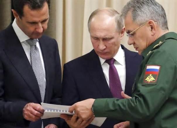 Россия довольна результатами войны в Сирии