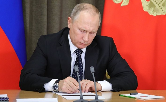 Путин устал