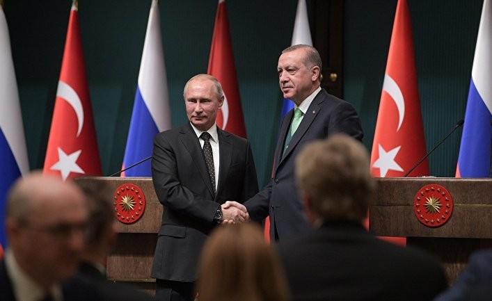 Встреча Эрдогана с Путиным после «зова петуха»