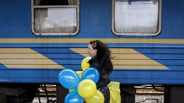 Обозреватель: Украина планирует перекрыть путь поездам из России