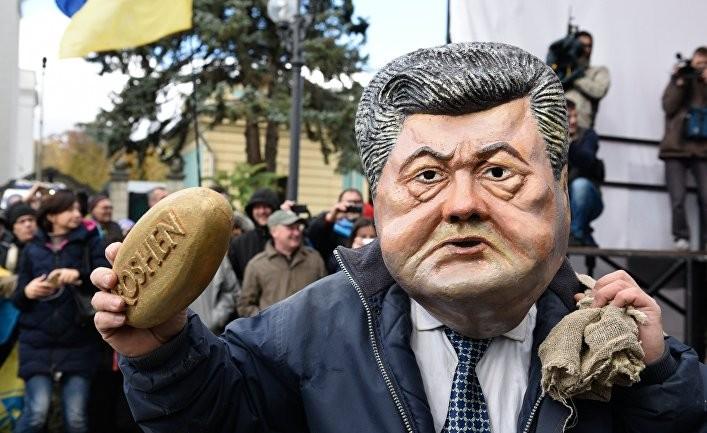 Совсем не забавный цирк Порошенко и Саакашвили