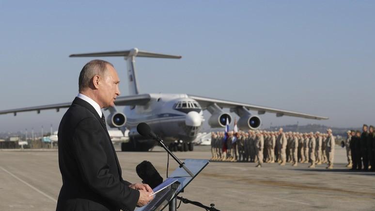 NYT: ближневосточное турне Путина демонстрирует его влияние