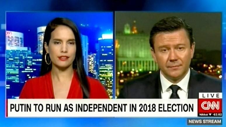 CNN: Путин хочет быть представителем всей России, а не отдельной партии