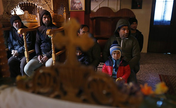Христианский джихад Путина