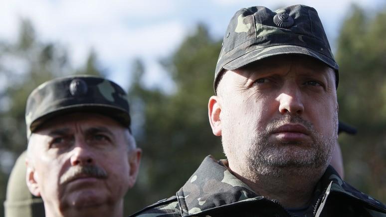Украинская правда: Турчинов предупредил НАТО об угрозе «военных авантюр» России