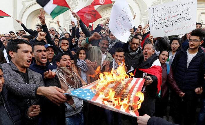 На самом деле это подарок палестинцам