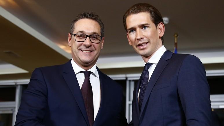 Kurier: близость «свободовцев» к Кремлю опасна для Австрии