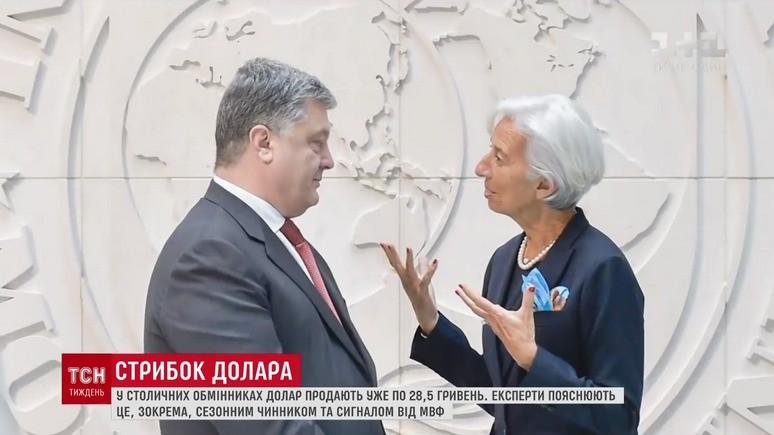 1+1: МВФ отказывается обсуждать следующий транш для Украины