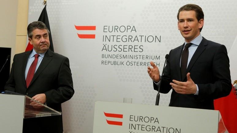 NOZ: прагматизм в отношениях с Россией спасёт Европу от раскола