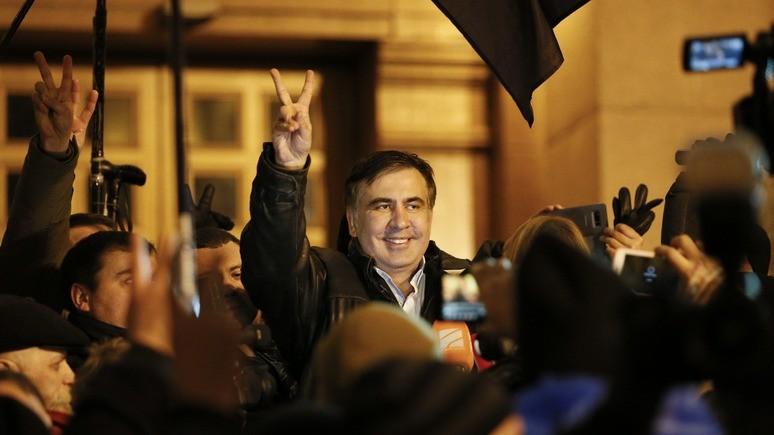 Саакашвили: Путин — кумир для сотрудников СБУ
