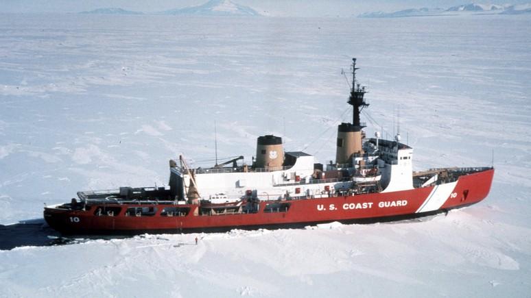 CBS: пока Россия укрепляется в Арктике, США пытаются удержать на плаву ветхий ледокол