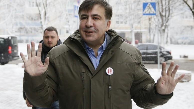 УП: Саакашвили призвал Порошенко уйти в отставку