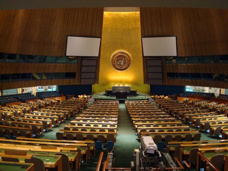 Игры и забавы в ООН