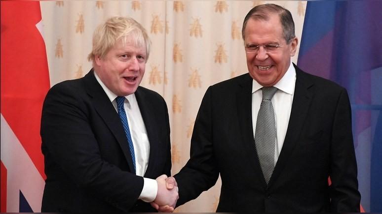 Sky News: на напряжённой встрече Лаврова и Джонсона нашлось место и шуткам