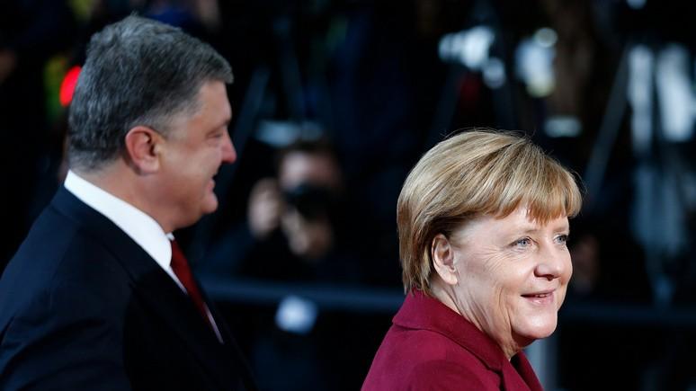 Меркель и Порошенко предложили вернуть российских наблюдателей на восток Украины