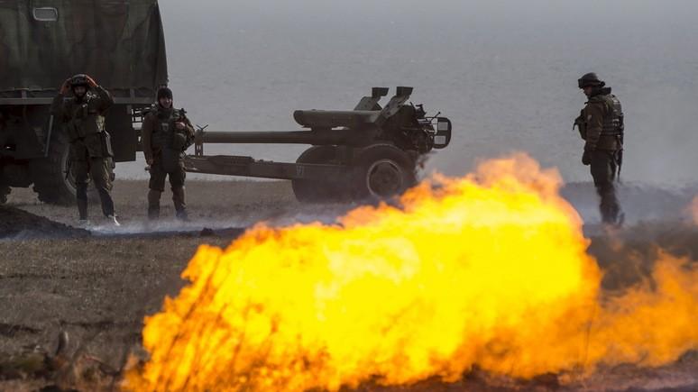 NI: продавать оружие Киеву — всё равно что лить бензин на тлеющие угли