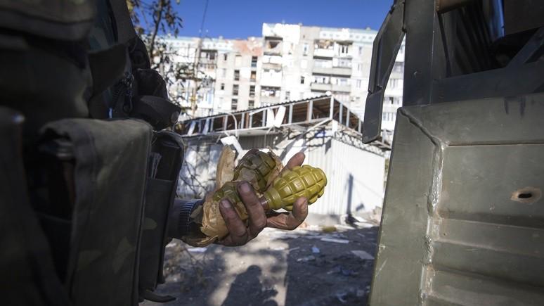 NYT: гранаты из зоны конфликта «просачиваются» в жизнь простых украинцев