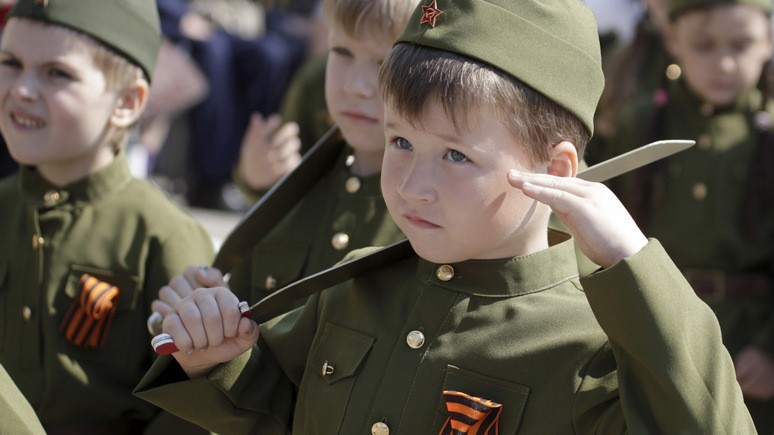 Le Figaro: российские школы учат детей любить родину