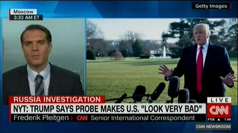 CNN: в Кремле согласны с Трампом — российское расследование позорит США