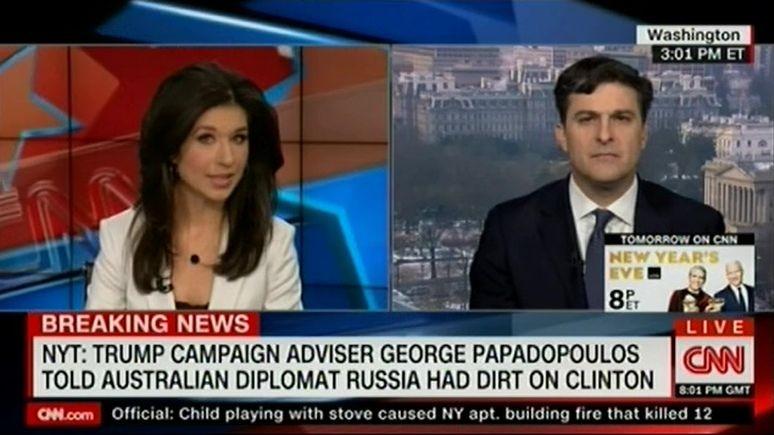 CNN: «российское расследование» ФБР началось с пьяных откровений советника Трампа